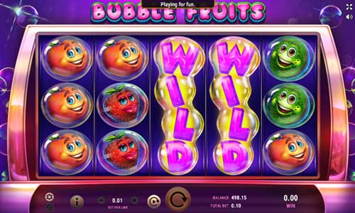 Bubble Fruits slot