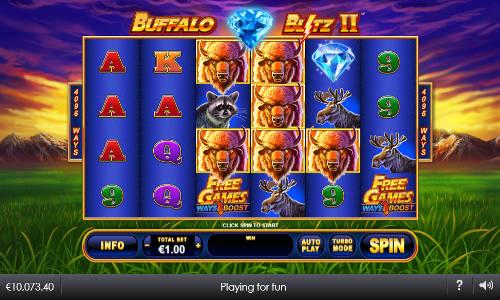 Buffalo Blitz II Videoslot Screenshot