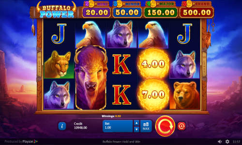 Buffalo Power Hold and Win slot