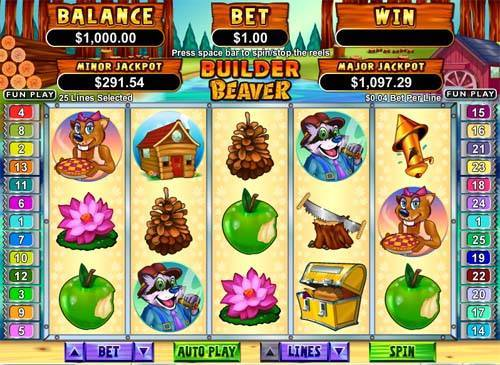 Builder Beaver slot free play demo