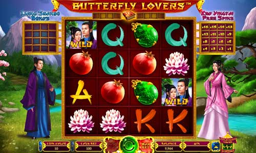 Butterfly Lovers slot Wazdan