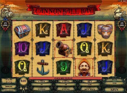 Canonball Bay slot