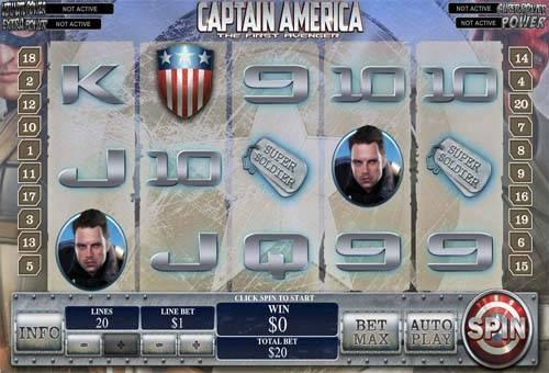 Captain America slot