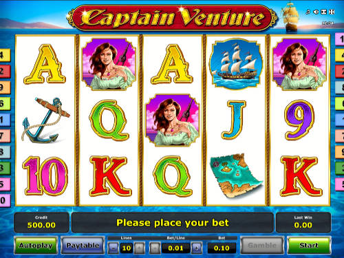 Captain Venture slot free play demo