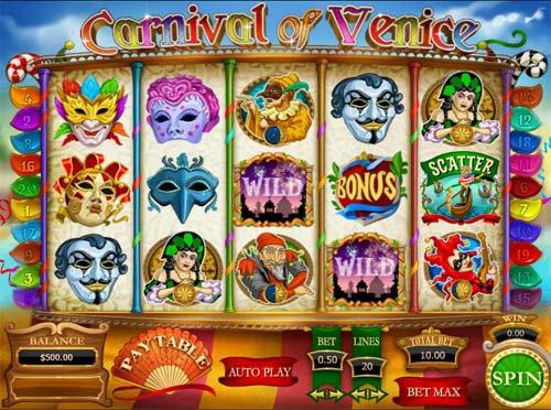 Carnival of Venice slot
