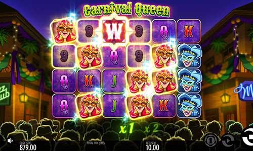 Carnival Queen Videoslot Screenshot