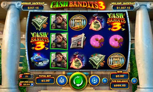 cash bandits 3 slot overview and summary