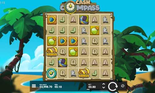 Cash Compass Videoslot Screenshot