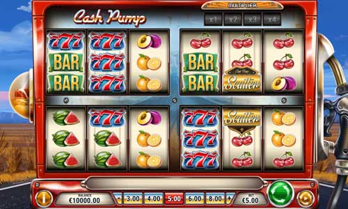 Cash Pump Videoslot Screenshot