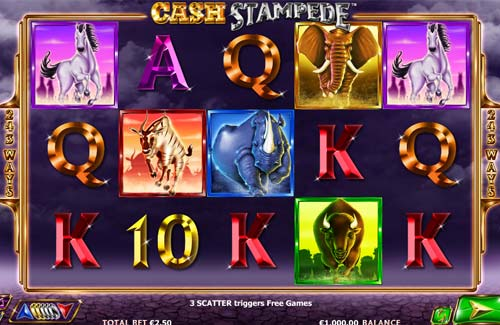 Cash Stampede™ Slot Machine Game to Play Free in NextGen Gamings Online Casinos