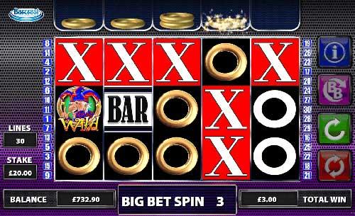 Cash Stax Videoslot Screenshot