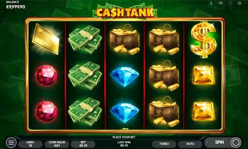 Cash Tank Videoslot Screenshot