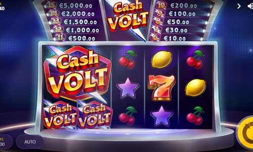 Cash Volt Videoslot Screenshot