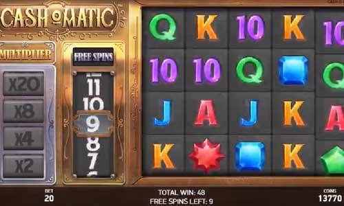 Cashomatic Videoslot Screenshot