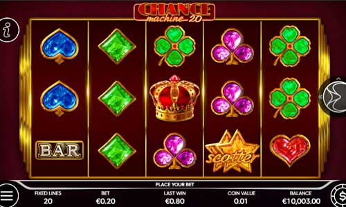 Chance Machine 20 slot