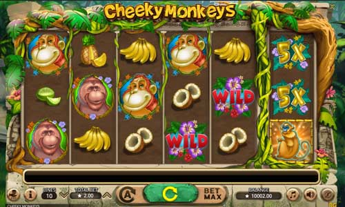 Cheeky Monkeys slot