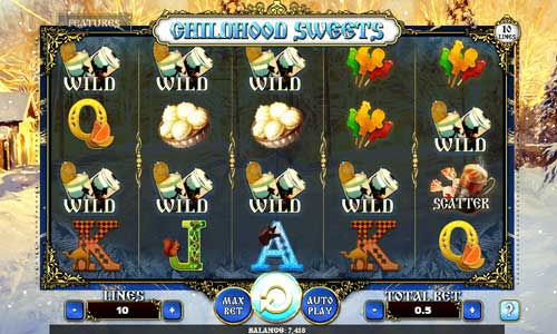 Childhood Sweets slot