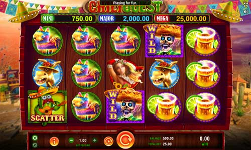 Chili Quest slot