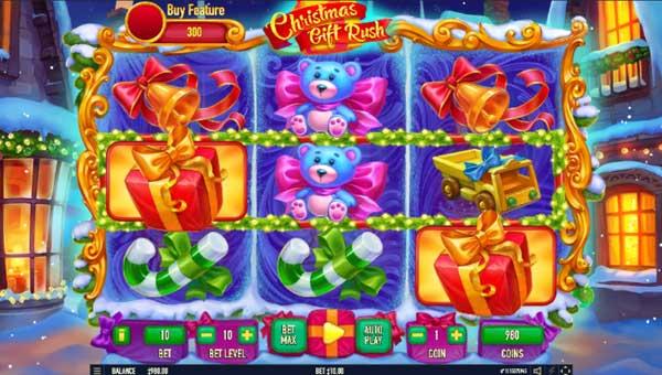 Christmas Gift Rush Videoslot Screenshot
