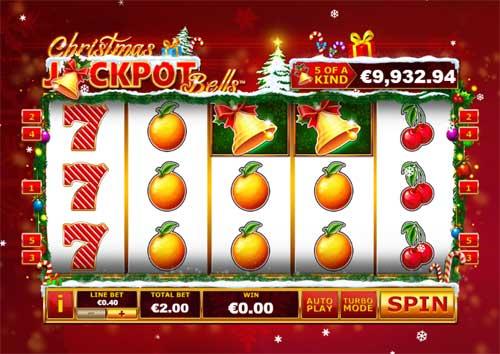 Christmas Jackpot Bells Videoslot Screenshot