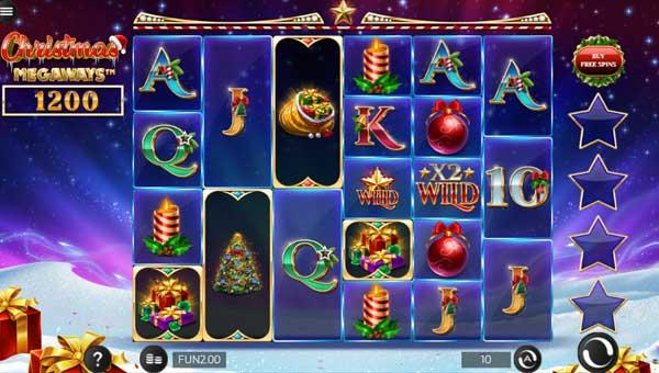 Christmas Megaways Videoslot Screenshot