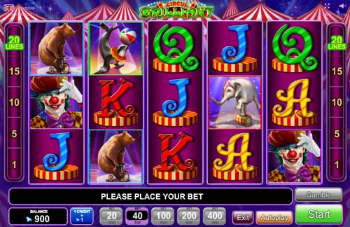 Circus Brilliant slot