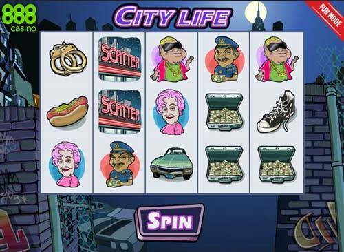 City Life slot free play demo