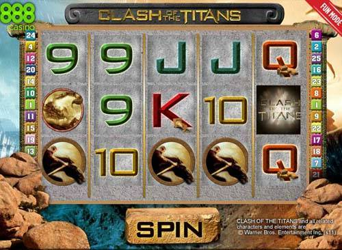 Clash of the Titans slot free play demo