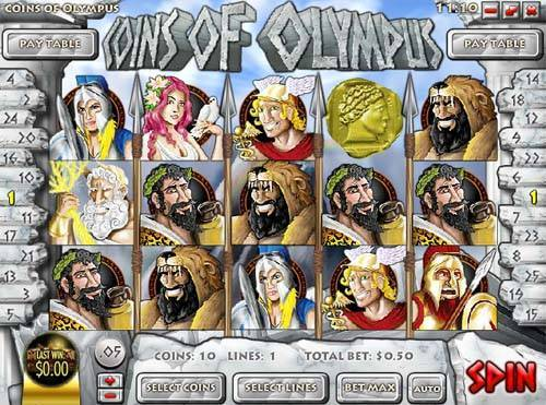Coins of Olympus slot