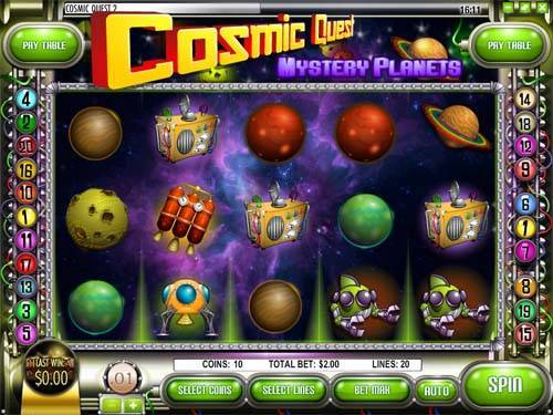 Cosmic Quest 2 slot free play demo