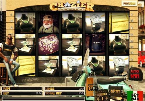 Crazier Jewelry slot