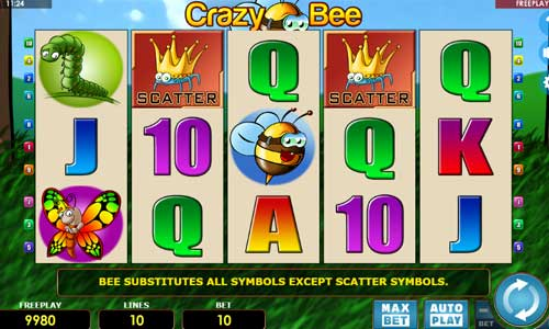 Crazy Bee slot