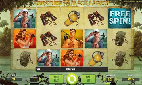 creature from the black lagoon slot overview and summary