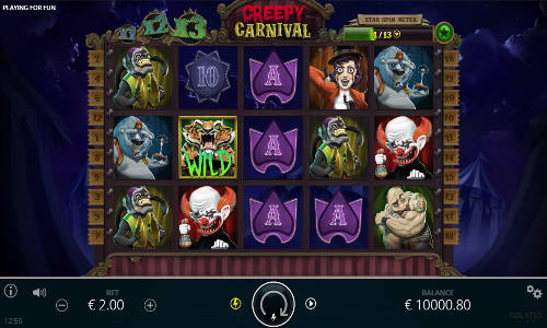 Creepy Carnival slot