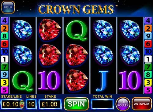 Crown Gems Videoslot Screenshot