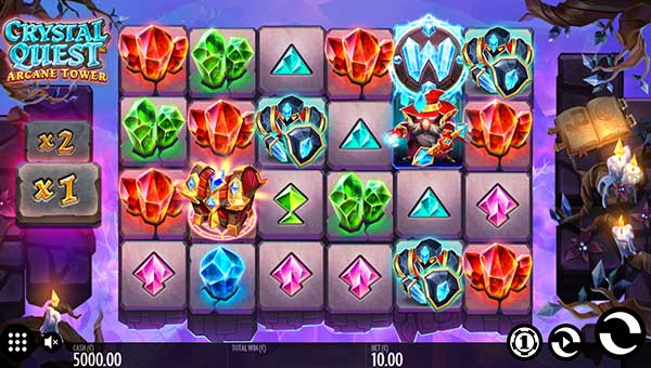 crystal quest arcane tower slot overview and summary