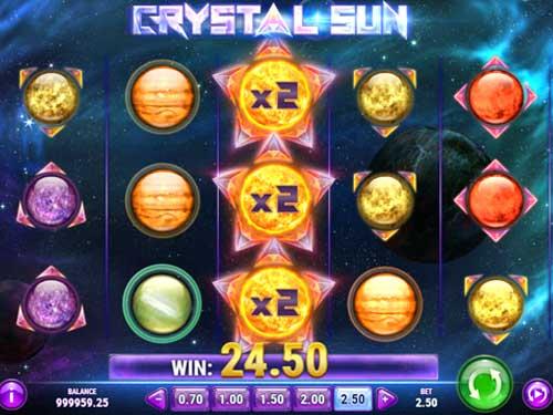 Crystal Sun Videoslot Screenshot