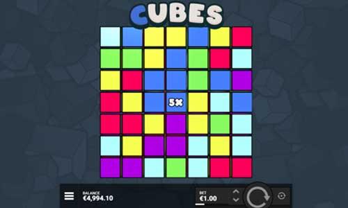 Cubes Videoslot Screenshot