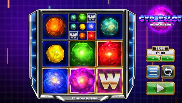 cyberslot megaclusters slot overview and summary