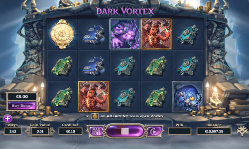 Dark Vortex Videoslot Screenshot