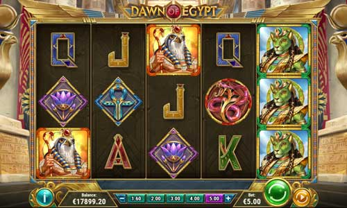 dawn of egypt slot review