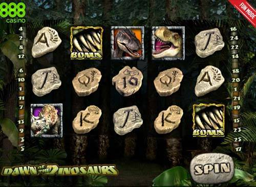 Dawn of the Dinosaurs slot free play demo