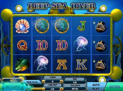 Deep Sea Diver slot