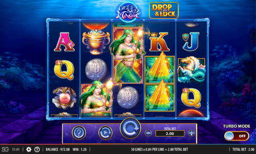 Deep Sea Magic Videoslot Screenshot
