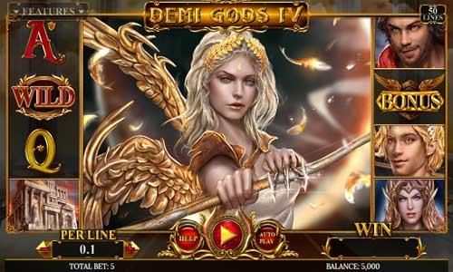 Demi Gods IV Videoslot Screenshot