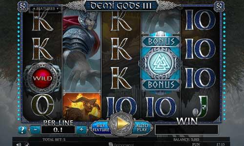 Demi Gods III slot