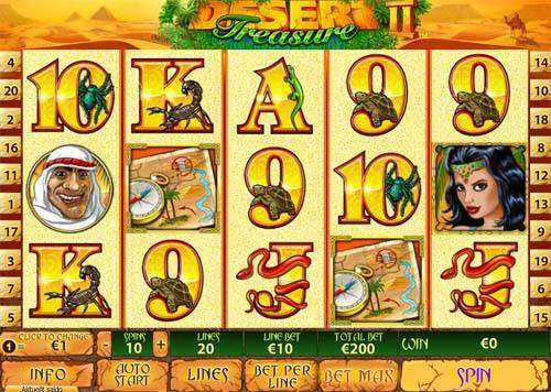 Desert Treasure 2 slot
