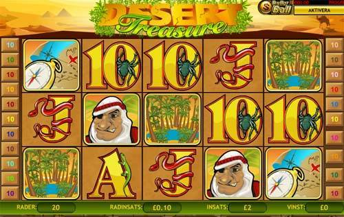 Desert Treasure slot free play demo