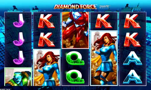 Diamond Force Videoslot Screenshot