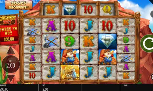 Diamond Mine Extra Gold Megaways slot